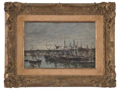 """Eugène Boudin, 'Portrieux """"Le Port""""', 1873"""