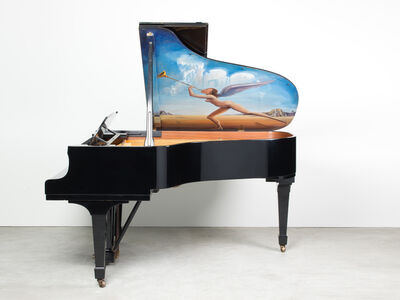"Salvador Dalí, '""Untitled"" (Known as the Piano of Mozart)', 1970"