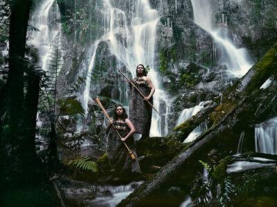 Jimmy Nelson, 'IX 134 Noel Pearse & Dominique Pere Huka Falls, North Island New Zealand - Maori, New Zealand', 2011