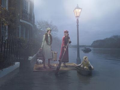 Julia Fullerton-Batten, 'Flood on the Thames', 2018
