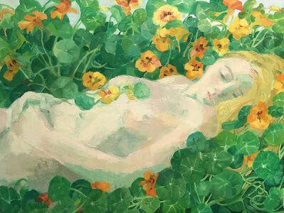 Teresa Baksa, 'In a Bed of Nasturtiums', 2018