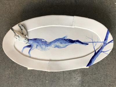 Tyler Hays, 'Ceramic Wall Hanging Platter', 2019