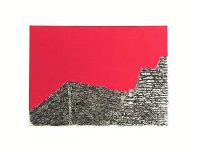 Julián Guerrero, 'Vestigios roja IX PA', 2014