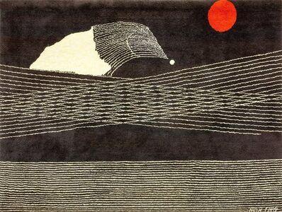 Max Ernst, 'Comete Wool Tapestry Rug by Max Ernst Dada Surrealist', 1950