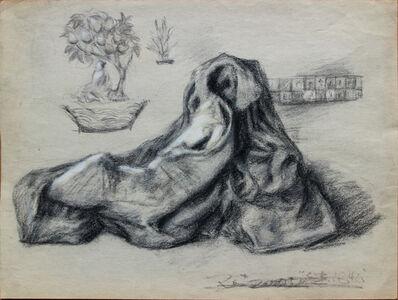 Pei Zhuangxin, 'Sketch ⼿稿《袈裟的夢》', 2008