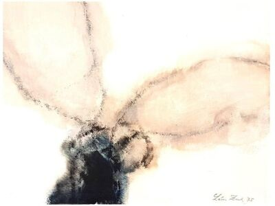 """Léon Zack, 'Oil On Canvas """"Lyrical Abstract Composition"""" by Leon Zack', 1975"""