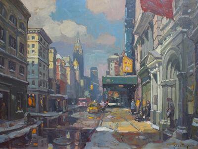 John C. Traynor, 'Waiting Outside Anthropologie (West Broadway)', 2015