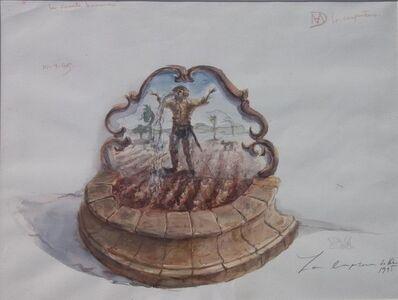 Los Carpinteros, 'La Fuente Humana', 1995