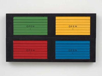 Renée Green, 'Colour Games', 1989