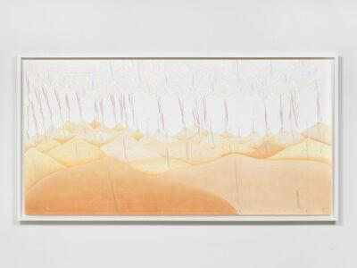 Jorinde Voigt, '40 hills (Vertical Turn)', 2017