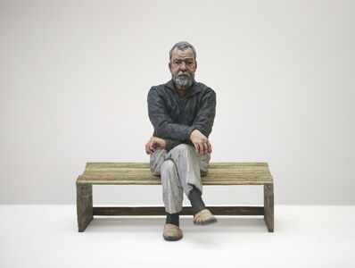 Sean Henry, 'Maquette for John (Seated)', 2011