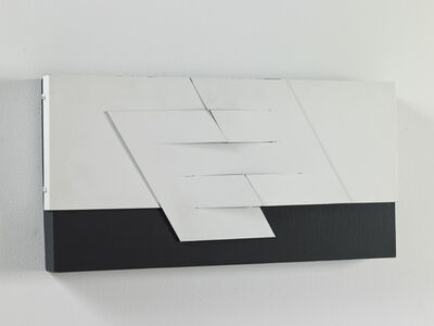 Eduardo Ramírez -Villamizar, 'Relieve negro y blanco N.° 2', 1978