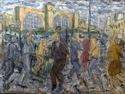 Leon Kossoff, 'Kings Cross, March Afternoon', 1998