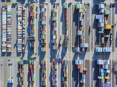 Jeffrey Milstein, 'Container Port 18', 2014
