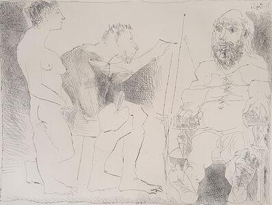 Pablo Picasso, 'Painter At Work (Peintre Au Travail)', 1963
