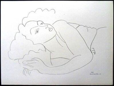 """Henri Matisse, 'Lithograph """"Woman IV"""" after Henri Matisse', 1943"""