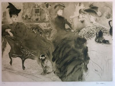 Jacques Villon, 'Le Potin', 1904