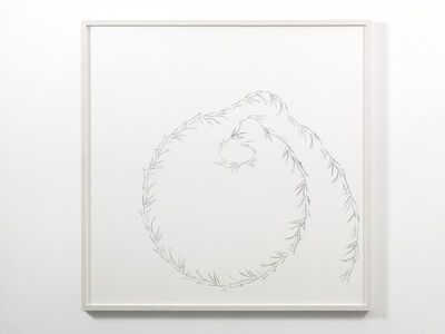 Anri Sala, 'Lines recto verso (Afif, Sala, Flavien)', 2015