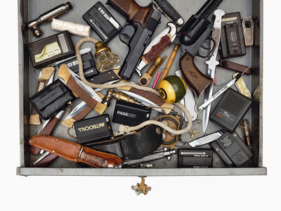 Jim Goldberg, 'Confiscated Objects', 1992-93