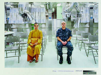 An-My Lê, 'Patient Admission, US Naval Hospital Ship Mercy, Vietnam', 2010
