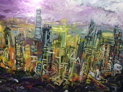 Arthur Ted Powell, 'Hong Kong Dusk ', 2015
