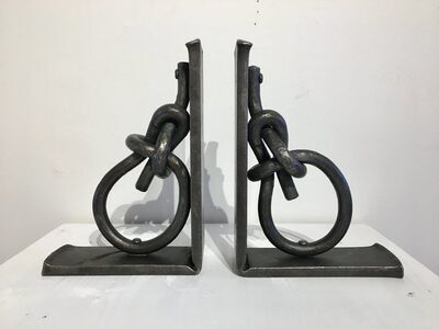 JP Shepard, 'Iron Knot Bookends'