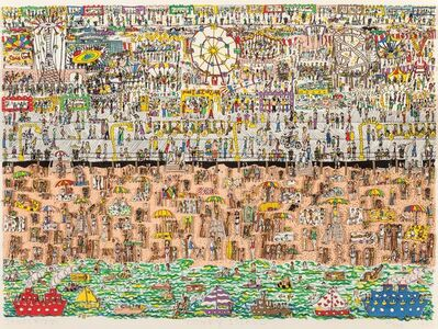 James Rizzi, 'Coney Island', 1983