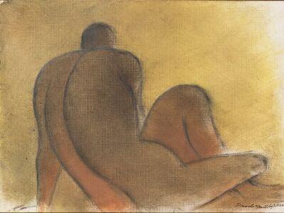 Ricardo Martinez, 'Hombre Con Fondo Amarillo', 2000