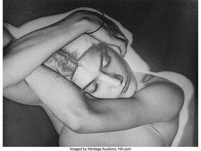 Man Ray, 'Sleeping Woman', circa 1930