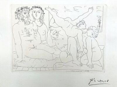 Pablo Picasso, 'Famille de Saltimbanques', 1933