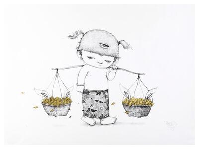 Alex Face, 'Basket (Gold Leaf)', 2016