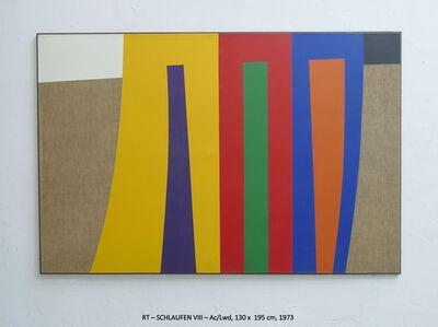 Rainer Tappeser, 'SCHLAUFEN VIII', 1973