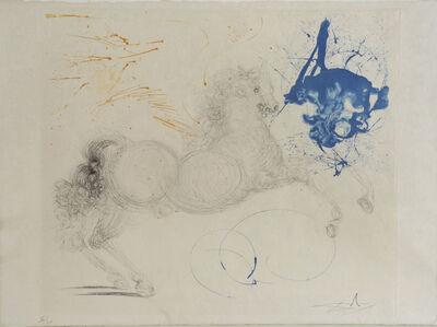 Salvador Dalí, 'Pégase. Pegasus. Mythologie', 1963-1965