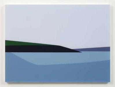 Julian Opie, 'Polridmouth Coast. From Cornish Coast 2', 2017