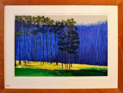 Wolf Kahn, 'Dark Pines', 2001