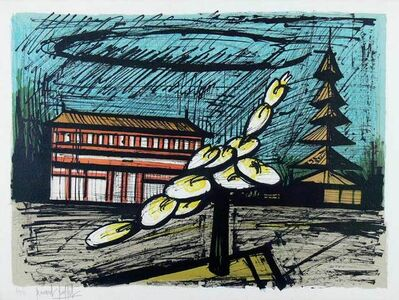 Bernard Buffet, 'Temple de Heian Shrine, Kyoto', 1981