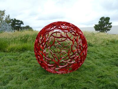 Ivan McLean, 'Red Sphere 72'
