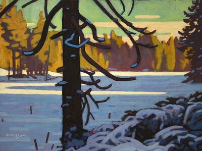 Clayton Anderson, 'Frozen Cedar'