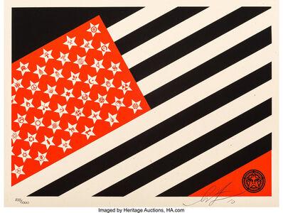 Shepard Fairey, 'Mayday Flag (Small)', 2010