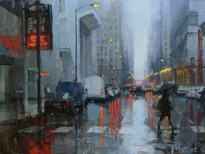Jacob Dhein, 'Chicago in the Rain III', 2018