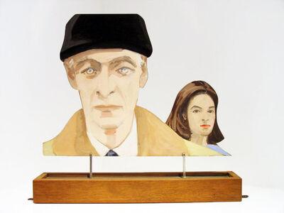 Alex Katz, 'Edwin and Ada (Edwin Denby and Ada Katz)', 1966