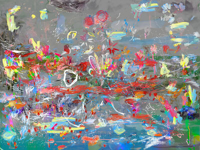Petra Cortright, 'fishaquarium fish in australiaaquarium fish', 2014