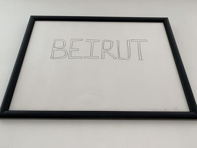 """Tracey Emin, 'TRACEY EMIN """"BEIRUT"""" SIGNED DATED & NUMBERED EDITION OF 100', 2006"""