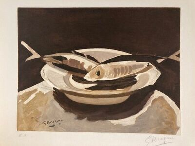 Georges Braque, 'The Fishes ', 1956