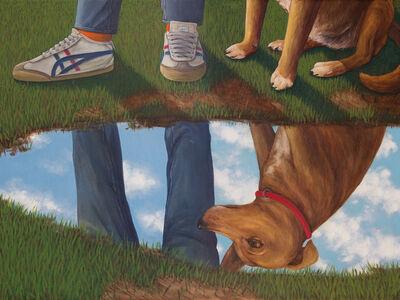 Esteban Ocampo, 'Dog's Reflection', 2018