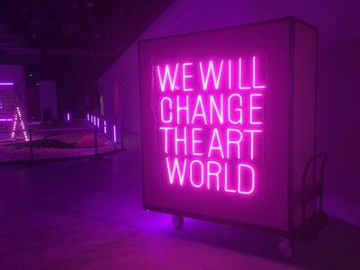 Wang Xin, 'We Will Change The Art World ', 2015