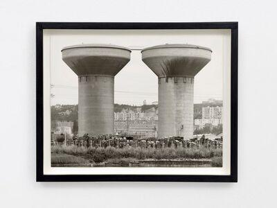 Bernd and Hilla Becher, 'Wassertürme in Honfleur', 1970