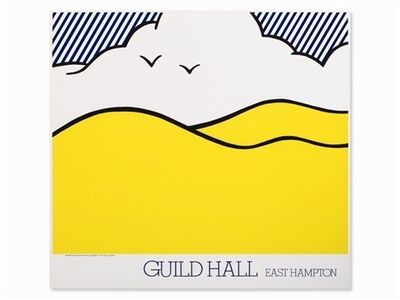 Roy Lichtenstein, 'Guild Hall East Hampton', 1980