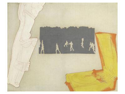 Renato Mambor, 'La partita di pallone', 1965