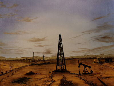 Eric Wright, 'Morrow County Oil Fields At Dawn (Bucolic)', 2020
